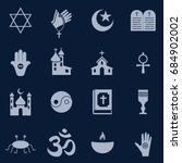 logo of all religions | Shutterstock .eps vector #684902002