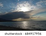 kyrgyzstan. southern coast of...   Shutterstock . vector #684917956