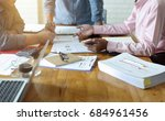 young business managers crew... | Shutterstock . vector #684961456