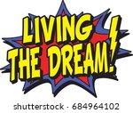 living dream | Shutterstock .eps vector #684964102