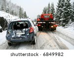 Car rescue - stock photo