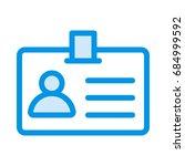 user card  | Shutterstock .eps vector #684999592