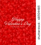 flying hearts valentine's day... | Shutterstock .eps vector #68504485