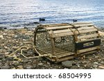 Old Lobster Trap  Old Handmade...