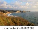 coast at twilight  islamar near ...   Shutterstock . vector #685082002