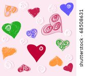 the vector illustration of... | Shutterstock .eps vector #68508631