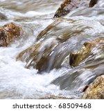 Water Flowing Over Stones