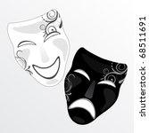 carnival masks vector | Shutterstock .eps vector #68511691