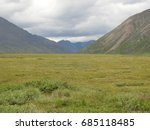 Brooks Range at Gates of the Arctic National Park in Alaska