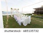 dinner | Shutterstock . vector #685135732