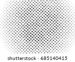 abstract halftone backdrop in... | Shutterstock . vector #685140415