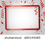 celebration background frame... | Shutterstock .eps vector #685145485