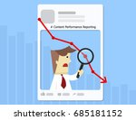 illustration vector of data... | Shutterstock .eps vector #685181152