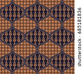 seamless with oriental motif....   Shutterstock .eps vector #685181836