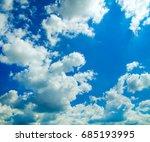 blue sky | Shutterstock . vector #685193995