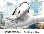 cyber security iot in industry... | Shutterstock . vector #685198462