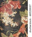 Oriental Decorative Floral...