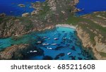 aerial view of isola di... | Shutterstock . vector #685211608