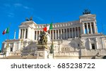panorama of the monument to... | Shutterstock . vector #685238722