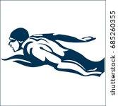 swimming sport   Shutterstock .eps vector #685260355