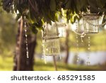 decorative decoration for a... | Shutterstock . vector #685291585