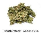 ounce of medicinal marijuana... | Shutterstock . vector #685311916