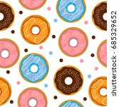 seamless pattern consisting of... | Shutterstock . vector #685329652
