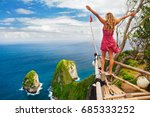 family vacation lifestyle.... | Shutterstock . vector #685333252