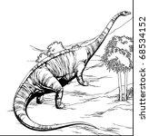 diplodocus | Shutterstock . vector #68534152
