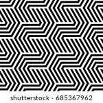 the geometric pattern with... | Shutterstock .eps vector #685367962