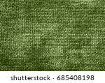green fabric background  | Shutterstock . vector #685408198