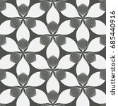 vector pattern  repeating... | Shutterstock .eps vector #685440916
