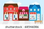 vector illustration of strip... | Shutterstock .eps vector #68546086