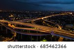 rama 9 bridge in thailand. the... | Shutterstock . vector #685462366