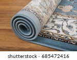 roll carpet | Shutterstock . vector #685472416