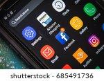 july 1  2017  las vegas  nv ... | Shutterstock . vector #685491736