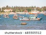 danang vietnam june 28 2017...   Shutterstock . vector #685505512