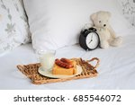 breakfast in bed | Shutterstock . vector #685546072