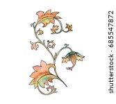 ornament. vintage pattern... | Shutterstock . vector #685547872