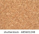 brown cork texture useful as a... | Shutterstock . vector #685601248