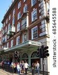 london  uk  april 30  2011  ... | Shutterstock . vector #685645588