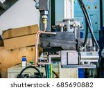 plc system for control and... | Shutterstock . vector #685690882