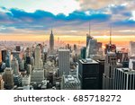 new york  united states  ... | Shutterstock . vector #685718272