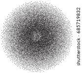 black dots on white background.... | Shutterstock .eps vector #685719832