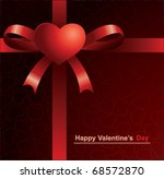 happy valentines day | Shutterstock .eps vector #68572870