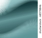 Dark and light turquoise halftone background, EPS format.