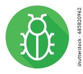bug icon | Shutterstock .eps vector #685820962