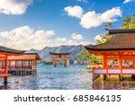 miyajima  hiroshima  japan... | Shutterstock . vector #685846135