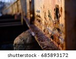 rusted bridge | Shutterstock . vector #685893172