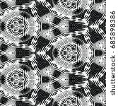 engraving seamless pattern. the ... | Shutterstock .eps vector #685898386